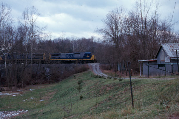 Csx West Virginia Style