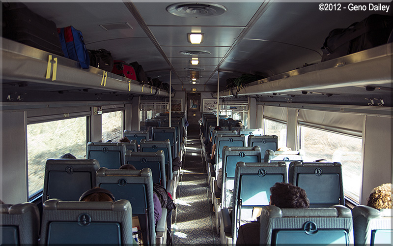 The Inside Of Via Hep 1 Coach 8120 Which Was My Coach On