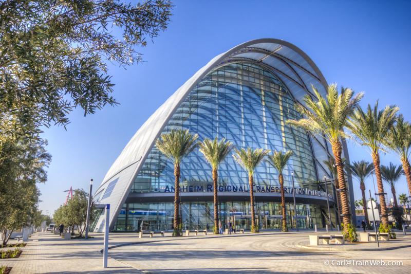 Anaheim Regional Transportation Intermodal Center Artic