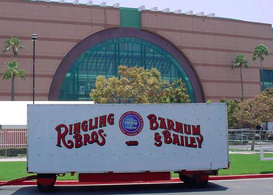 Ringling Bros. and Barnum & Bailey Circus Train