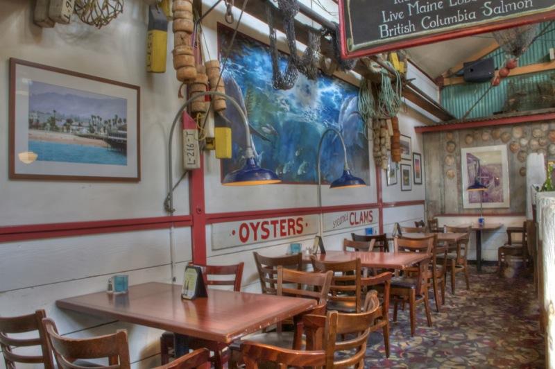 Photograph in a railroad related slide show for Enterprise fish co santa barbara