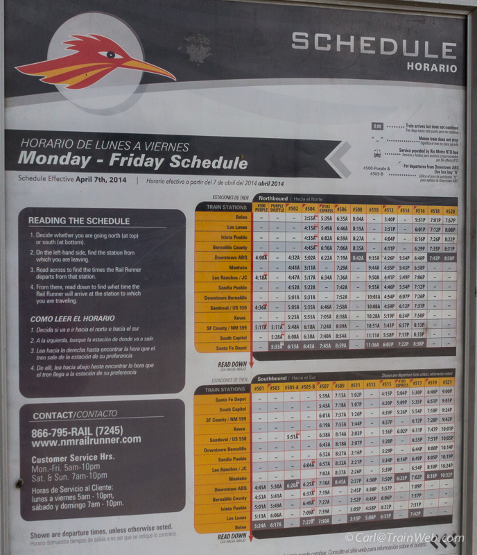 rail runner sunday schedule  Training Mission - Amtrak Southwest Chief from Fullerton, California ...