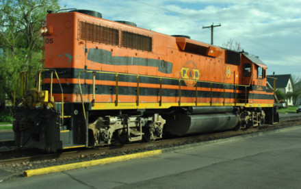 The Corvallis Switcher Was Portland Amp Western Gp 39 2 2305