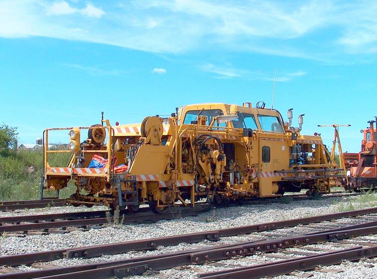 two track machine