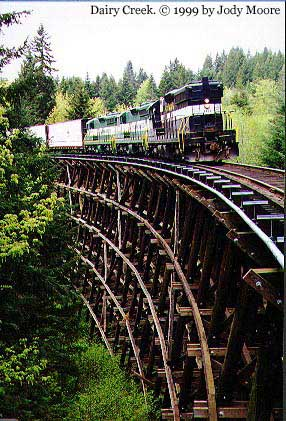 dairy creek trestle