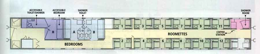 Image Gallery Viewliner Plans