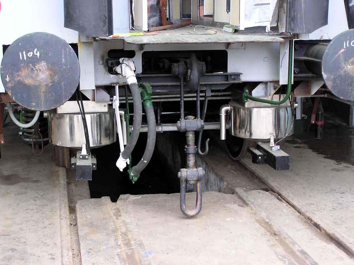 Integral coach factory