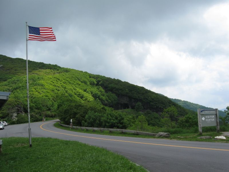 Craggy Gardens Visitors Center Is One Of The Windiest Coolest Spots On The Blue Ridge Parkway